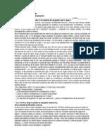 Control de Contenidos Coeficiente II Lenguaje y Comunicación