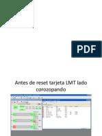 Reset Tarjeta LMT Marconi Corozopando-camaguan