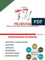 Materi Presentasi Prudential