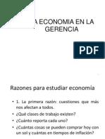 Economia en La Gerencia II