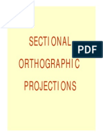 Sectional Orthographic