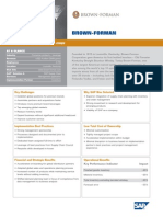 Brown-Forman Corporation Business Transformation Study