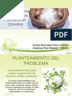 Exp Impacto Ambiental de Polimeros en Colombia