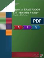 Marketing Report PRAN