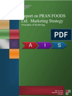 Marketing Report PRAN