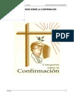 CATEQUESIS SOBRE LA CONFIRMACIÓN