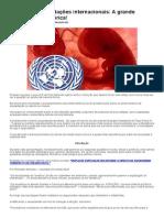 Aborto e as Fundações Internacionais