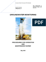 Ground Water O&M Norms