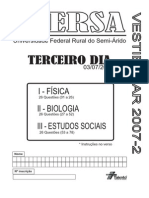 Ufersa20072 Terceiro Dia Prova