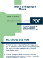 Reglamento de Seguridad Minera 1 111996