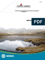 Minera  Lumnia Cooper - Proyecto  El Galeno IV Modificatoria - Resumen Ejecutivo (Español).pdf
