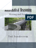 Mathematical Reasoning- Writing and Proof