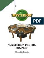 Manual Usuario Ruleta Odrex Mysterion Pr4