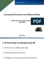 Peru 50 Años de Desarrollo Economico