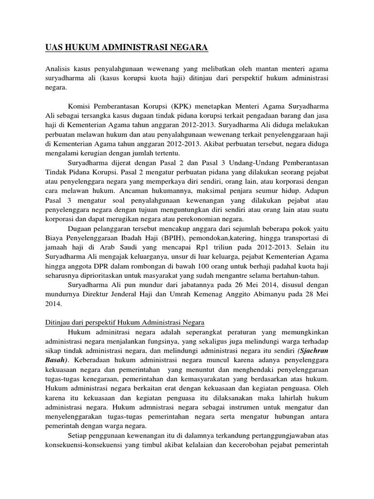 Contoh Kasus Hukum Tata Negara Dan Analisisnya Barisan Contoh