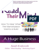 Read Their Mind - How to Hear W - Sandi Krakowski