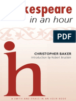 Shakespeare in an Hour - Christopher Baker