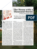 The House with a Thousand Stories has garnered rave reviews for its first-time author.