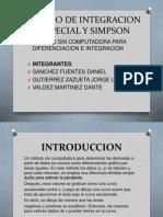 Metodo de Integracion Trapecial y Simpson