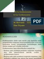 Na K CA Geothermometer