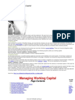 Cash Flow vs. Working Capital