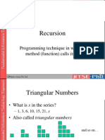 6. Algorithms - Extra-Recursion