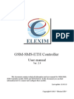 Gsm Sms Eth Controller