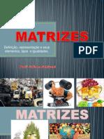 Matrizes Definicao- Construcao e Tipos