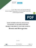 Bosnia Dostupni Izvori Finansiranja