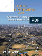 State of African Cities 2010 (L'État Des Villes Africaines 2010)