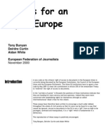 Essays for an Open Europe