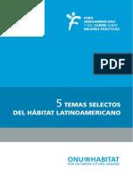 5 Temas Selectos Del Hábitat Latinoamericano