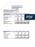 Market Analysis Excel Template