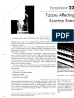 'Factors Affecting Reaction Rates' Chemical Kinetics