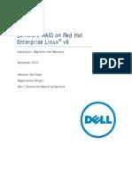 Software RAID on Red Hat Enterprise Linux v6