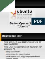 Ubuntu Bukan Windows