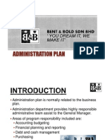 Administration Plan (1)