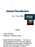 advent recollection
