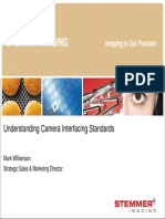 Stemmer Understanding Camera Interface Standards Version 09 Vision