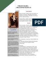 Oraciones Basicas a La Virgen Maria y a San Jose