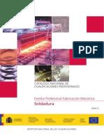 Catalogo Nacional de Cualificaciones Profesionales Soldadura