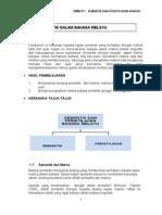 Isi Pelajaran Semantik Dan Peristilhan Bahasa Melayu Psgr Bmm3111!1!140330205102 Phpapp02
