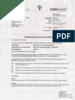 Ankündigung Der Zwangsvollstreckung Vom 17.06.2014
