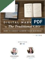 Digital Marketer vs Traditional