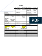 12 Week P34 Schedule