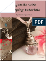 Exquisite Wire Wrapping Tutorials