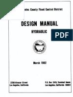 Design Manual Hydraulic