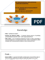 knowledge , Management, and KnowledgeManagement in Business Operations