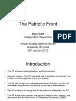Paget 2012 Programmatic Politics PPT