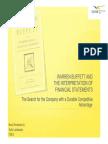 FIL_Warren Buffett and Interpretation of Financial Statements